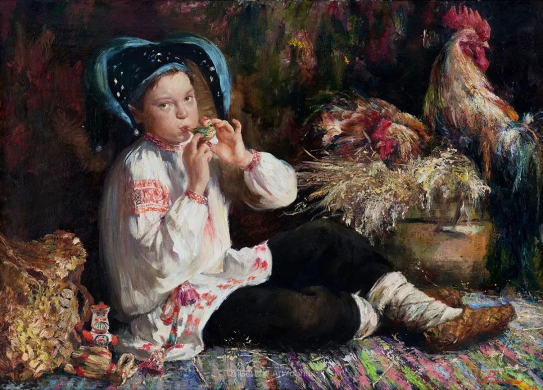 人物肖像,俄罗斯女画家安娜·维诺加拉多娃插图78
