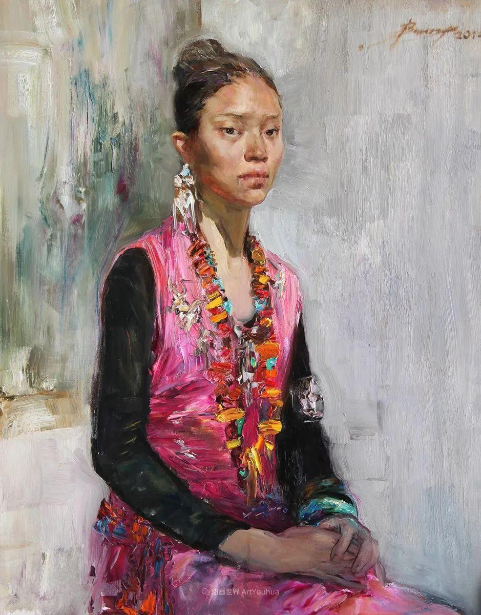 人物肖像,俄罗斯女画家安娜·维诺加拉多娃插图98