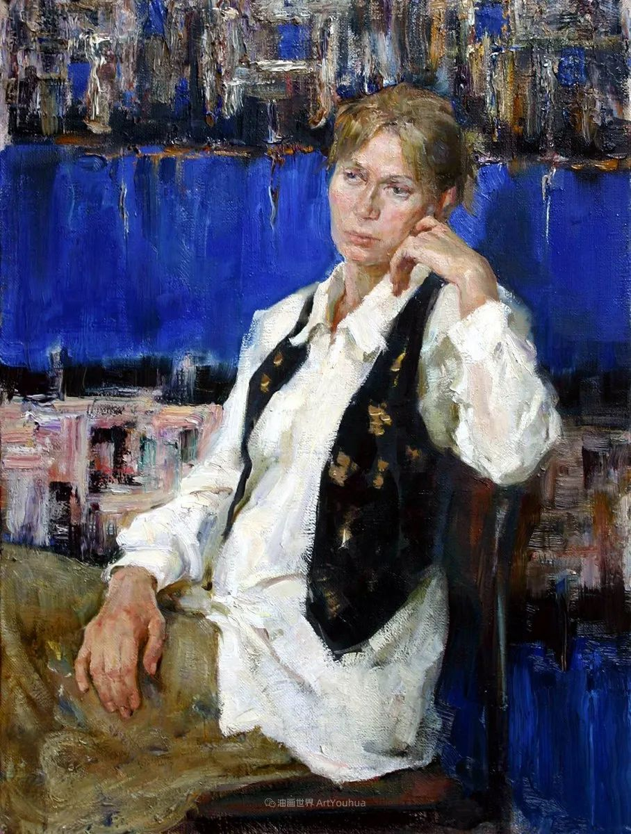 人物肖像,俄罗斯女画家安娜·维诺加拉多娃插图102