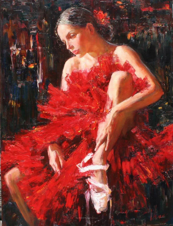 芭蕾舞蹈,俄罗斯女画家安娜·维诺加拉多娃插图1