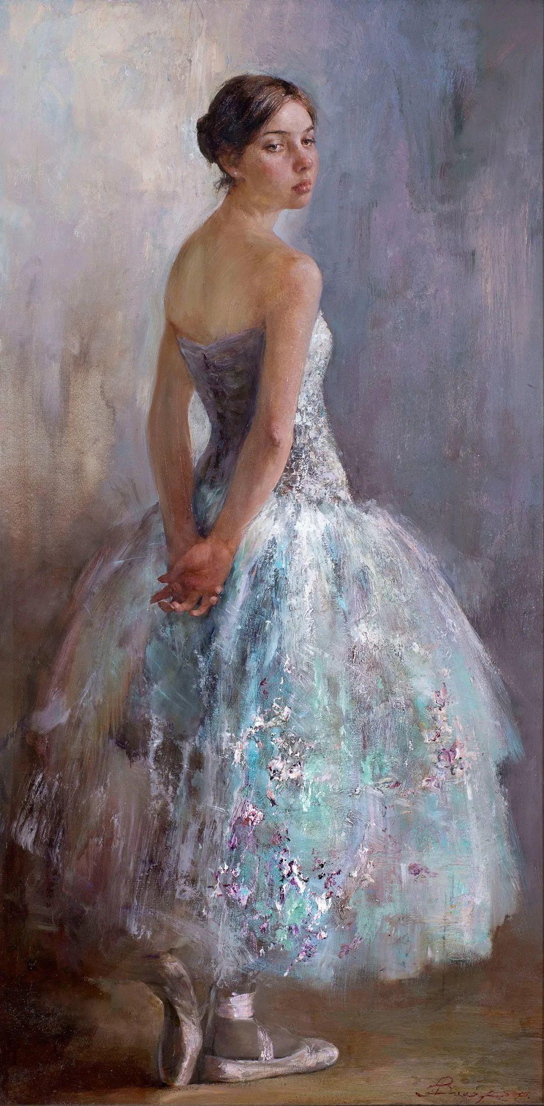 芭蕾舞蹈,俄罗斯女画家安娜·维诺加拉多娃插图3