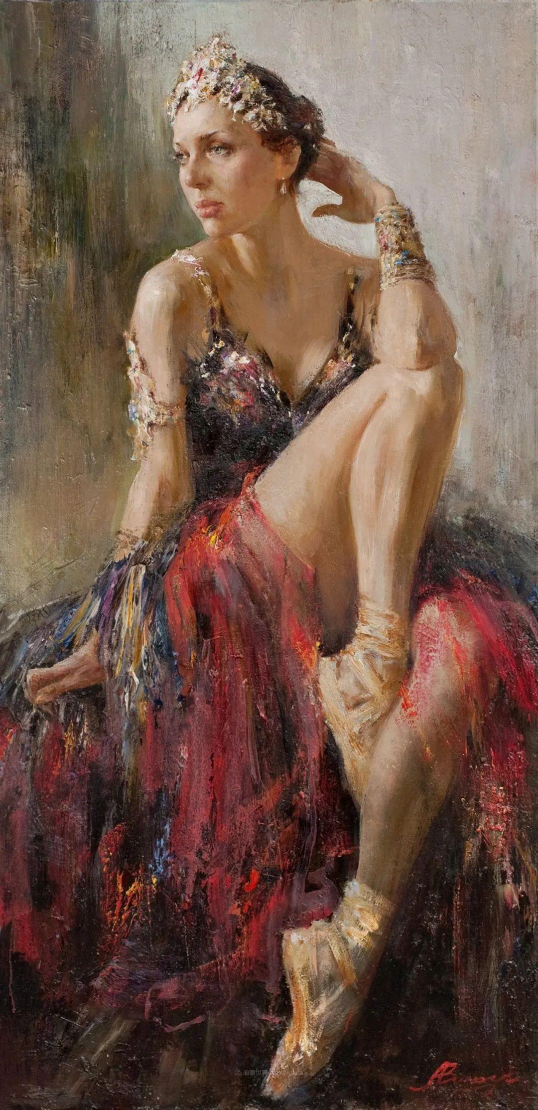 芭蕾舞蹈,俄罗斯女画家安娜·维诺加拉多娃插图5