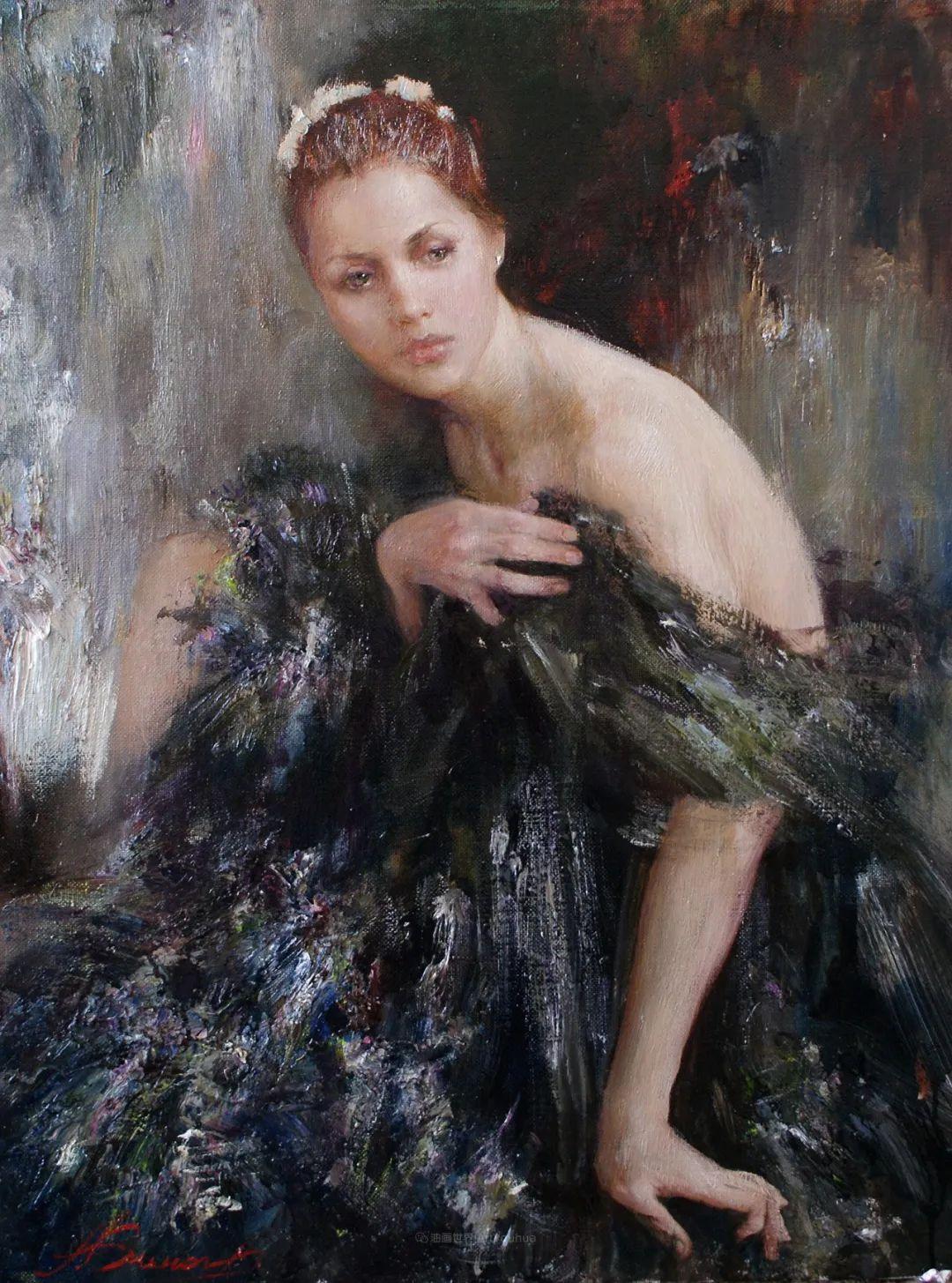 芭蕾舞蹈,俄罗斯女画家安娜·维诺加拉多娃插图7