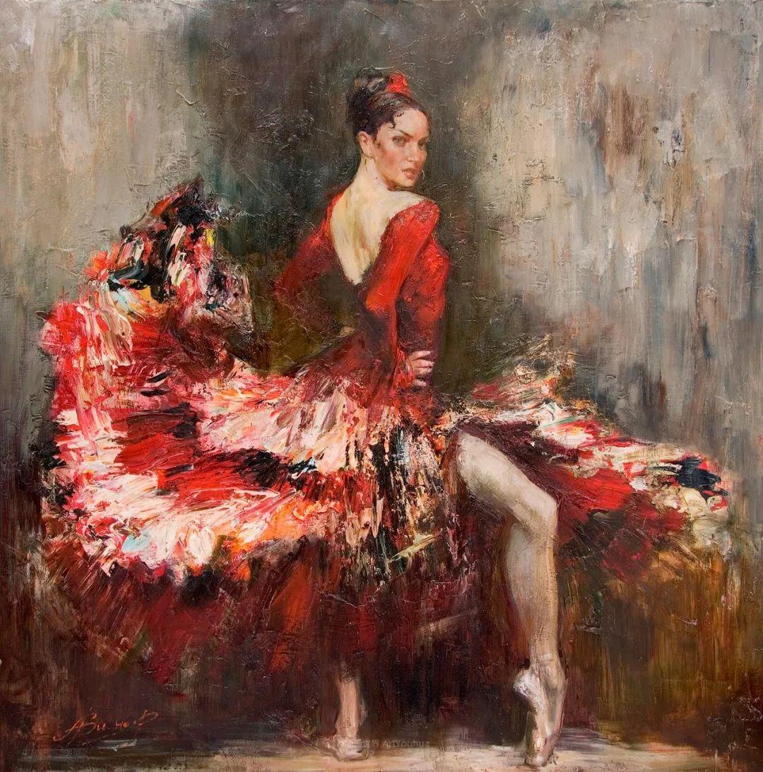 芭蕾舞蹈,俄罗斯女画家安娜·维诺加拉多娃插图9