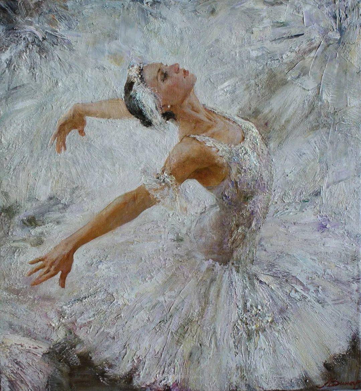 芭蕾舞蹈,俄罗斯女画家安娜·维诺加拉多娃插图13