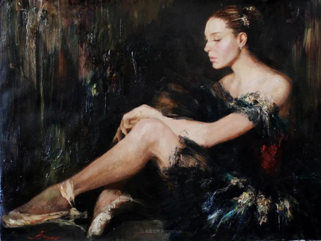 芭蕾舞蹈,俄罗斯女画家安娜·维诺加拉多娃插图19