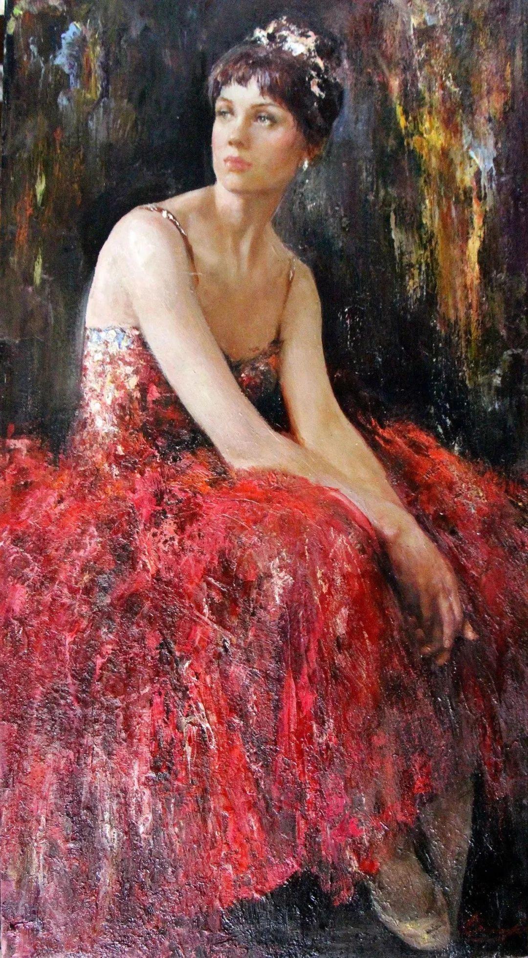 芭蕾舞蹈,俄罗斯女画家安娜·维诺加拉多娃插图21