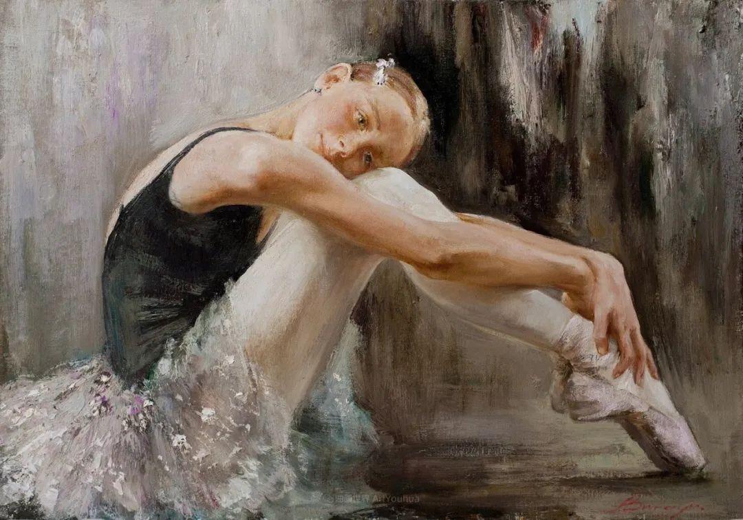 芭蕾舞蹈,俄罗斯女画家安娜·维诺加拉多娃插图27