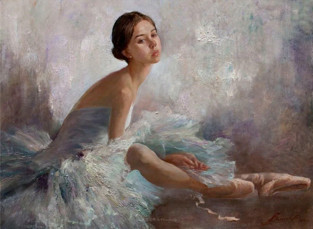 芭蕾舞蹈,俄罗斯女画家安娜·维诺加拉多娃插图29