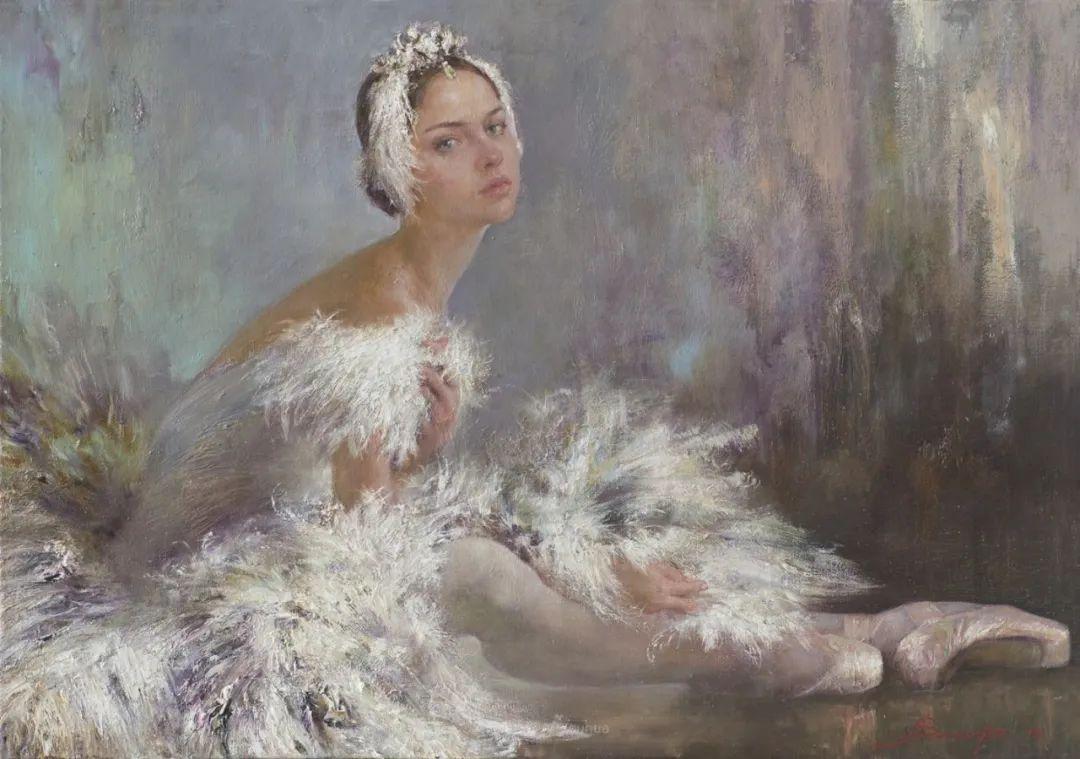 芭蕾舞蹈,俄罗斯女画家安娜·维诺加拉多娃插图31