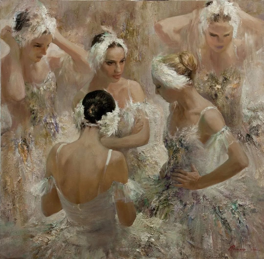 芭蕾舞蹈,俄罗斯女画家安娜·维诺加拉多娃插图41