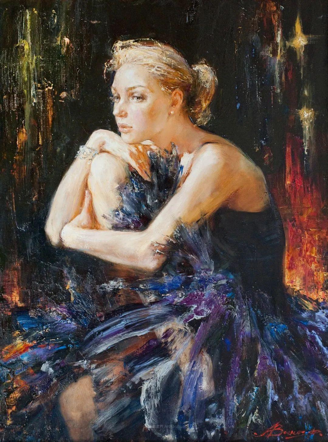 芭蕾舞蹈,俄罗斯女画家安娜·维诺加拉多娃插图47
