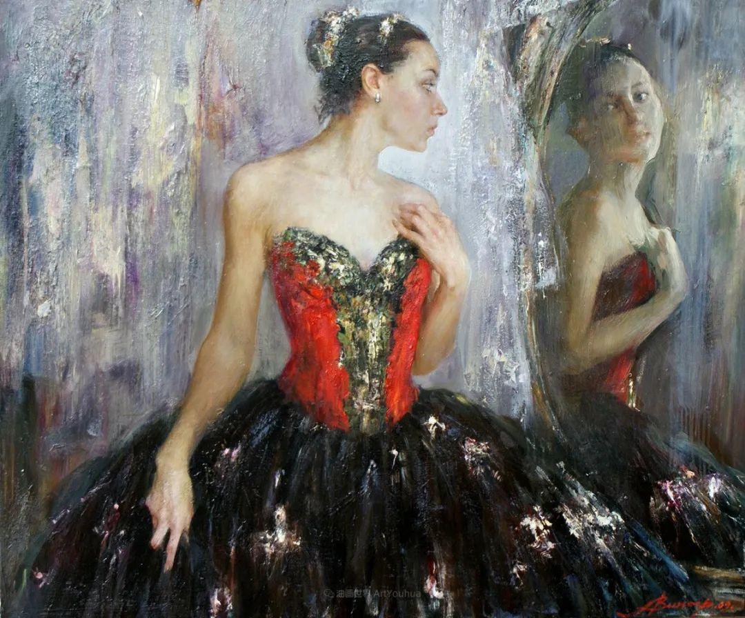 芭蕾舞蹈,俄罗斯女画家安娜·维诺加拉多娃插图49