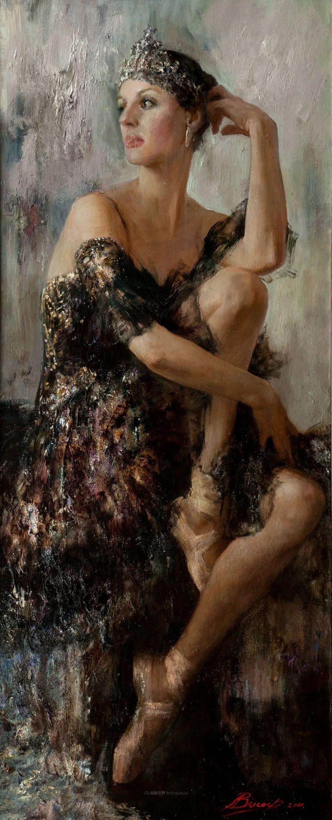 芭蕾舞蹈,俄罗斯女画家安娜·维诺加拉多娃插图51