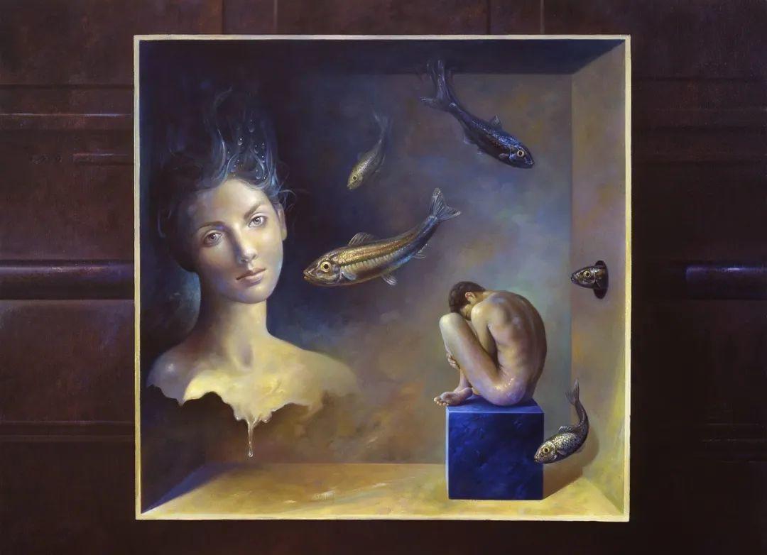 西班牙超现实主义画家阿尔贝托·潘科博插图1