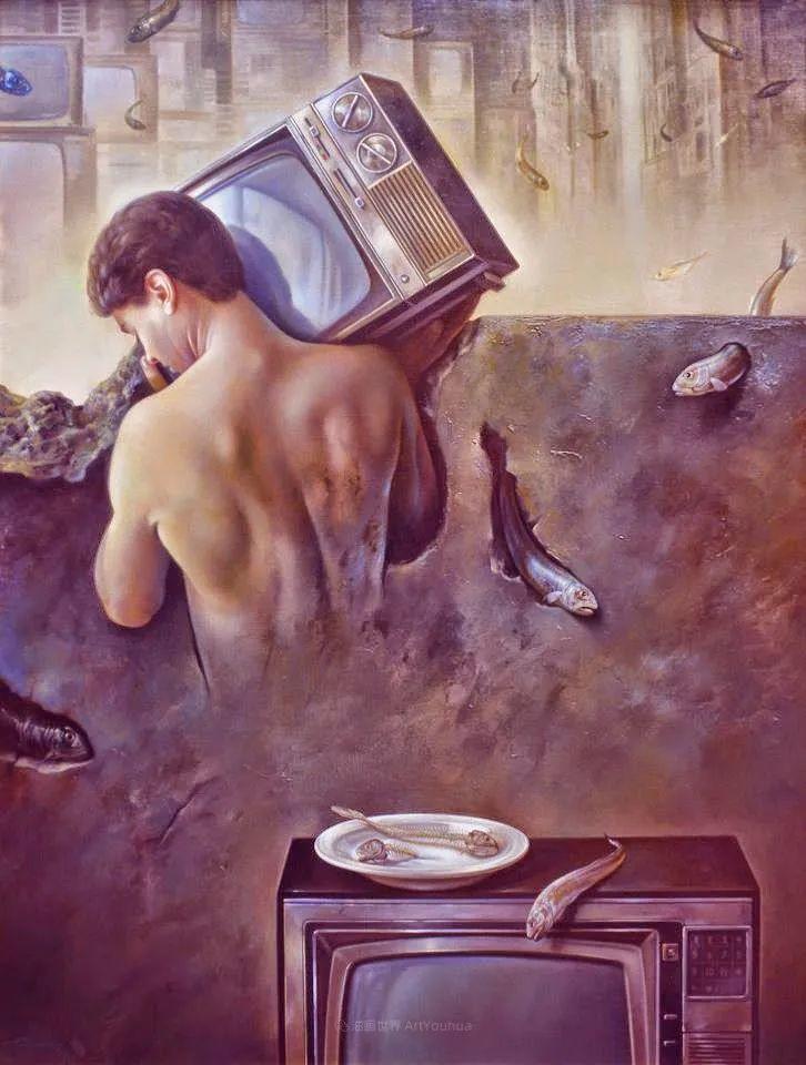 西班牙超现实主义画家阿尔贝托·潘科博插图8