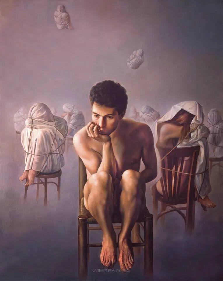 西班牙超现实主义画家阿尔贝托·潘科博插图16