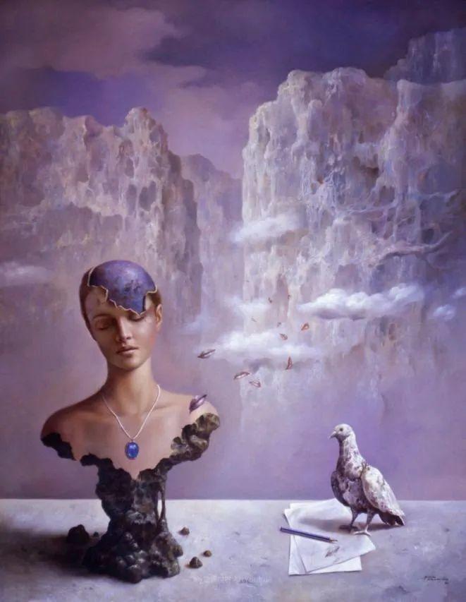 西班牙超现实主义画家阿尔贝托·潘科博插图22
