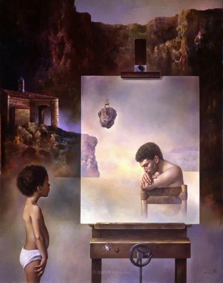 西班牙超现实主义画家阿尔贝托·潘科博插图24
