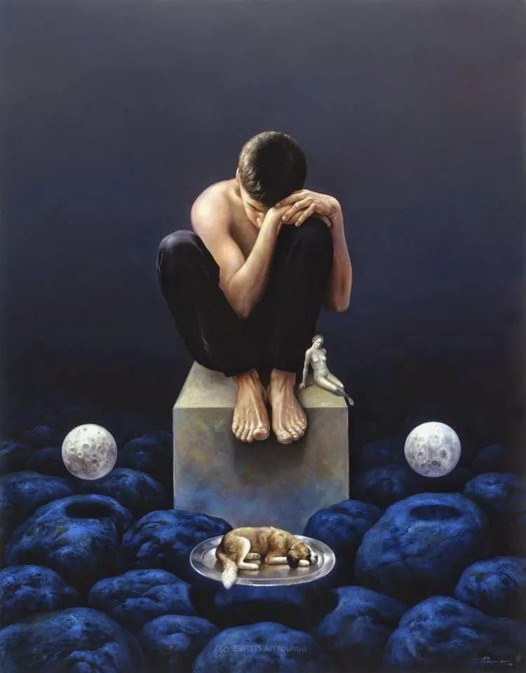 西班牙超现实主义画家阿尔贝托·潘科博插图30