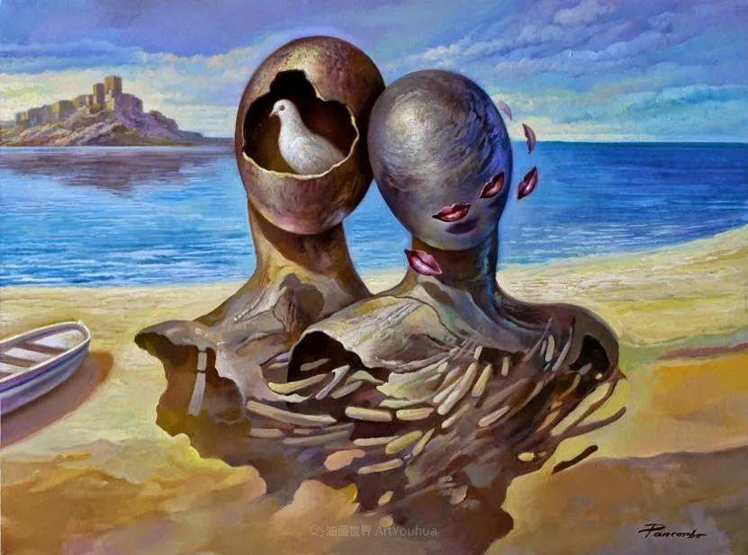 西班牙超现实主义画家阿尔贝托·潘科博插图38