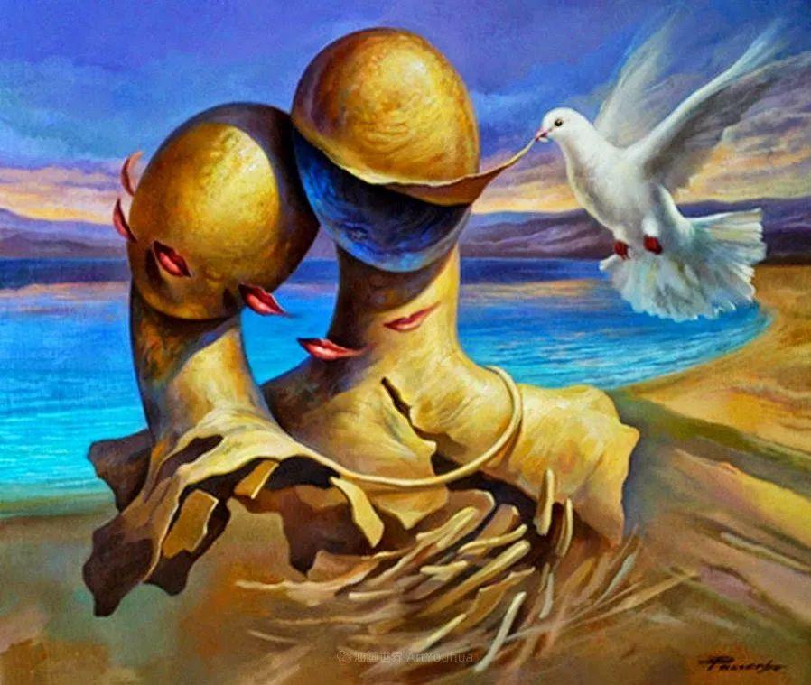 西班牙超现实主义画家阿尔贝托·潘科博插图40