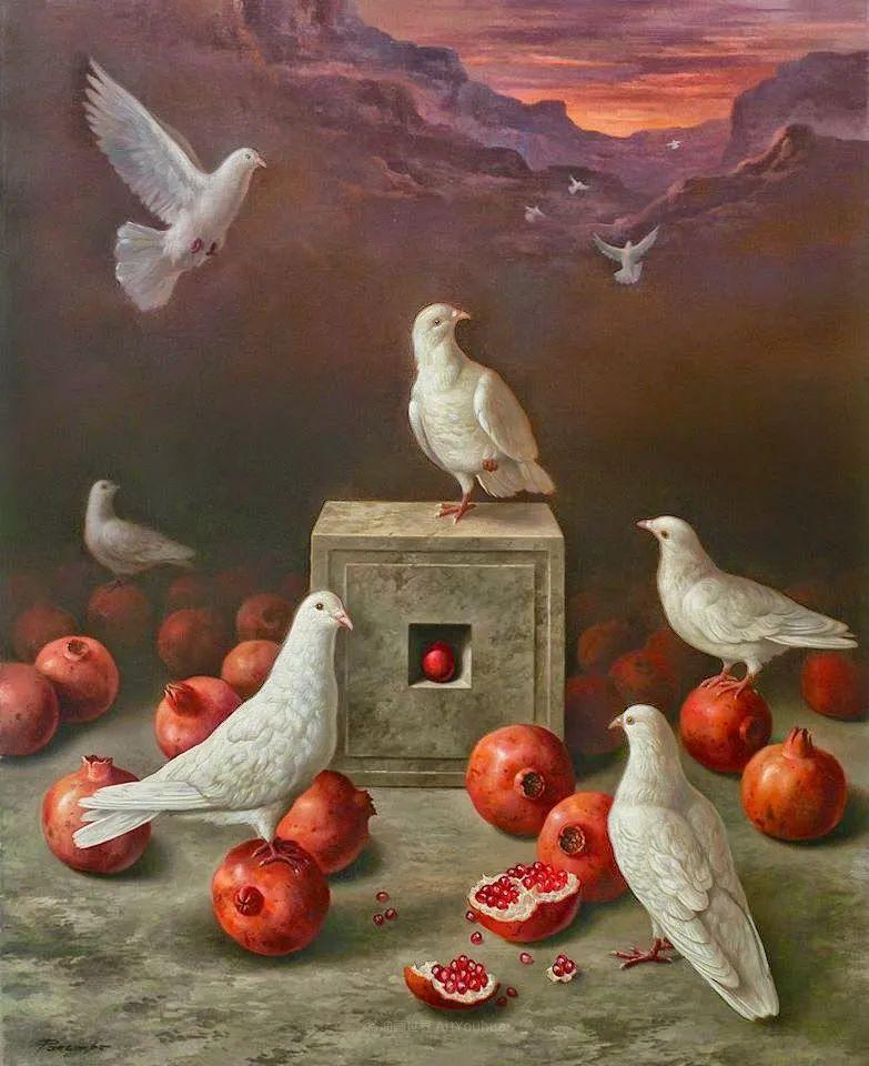 西班牙超现实主义画家阿尔贝托·潘科博插图44