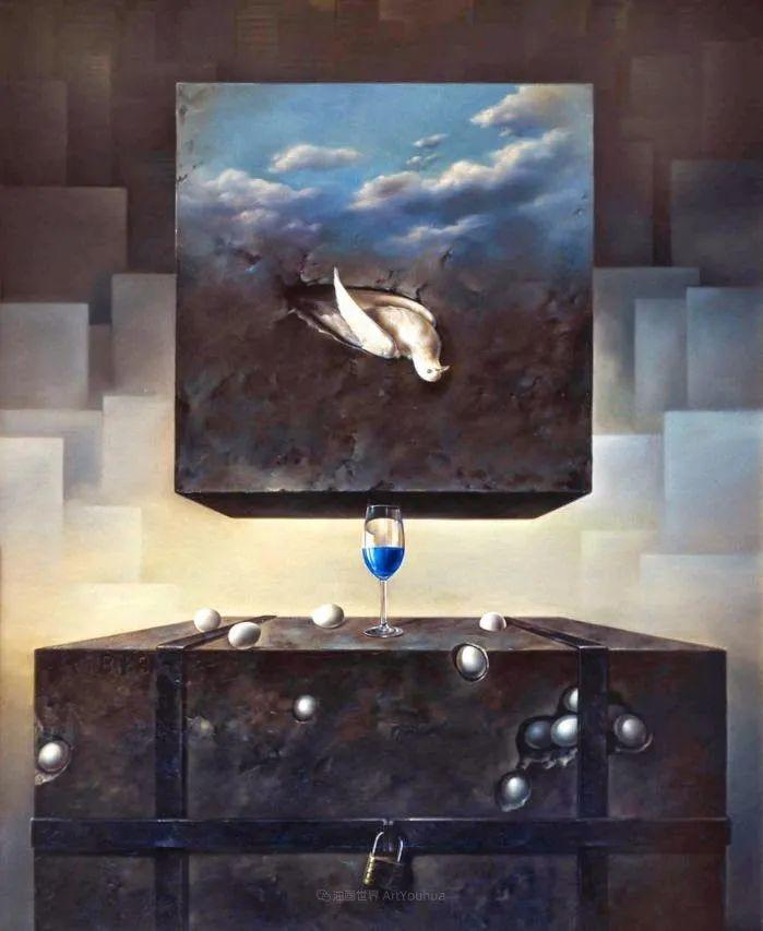 西班牙超现实主义画家阿尔贝托·潘科博插图46