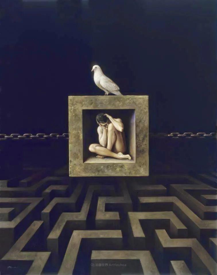 西班牙超现实主义画家阿尔贝托·潘科博插图56
