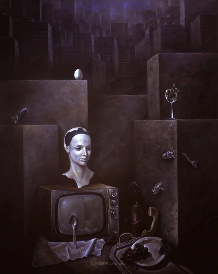 西班牙超现实主义画家阿尔贝托·潘科博插图60