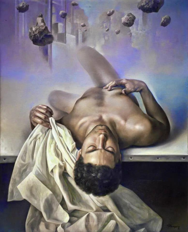 西班牙超现实主义画家阿尔贝托·潘科博插图64
