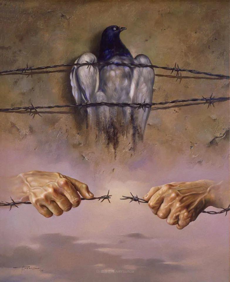 西班牙超现实主义画家阿尔贝托·潘科博插图68