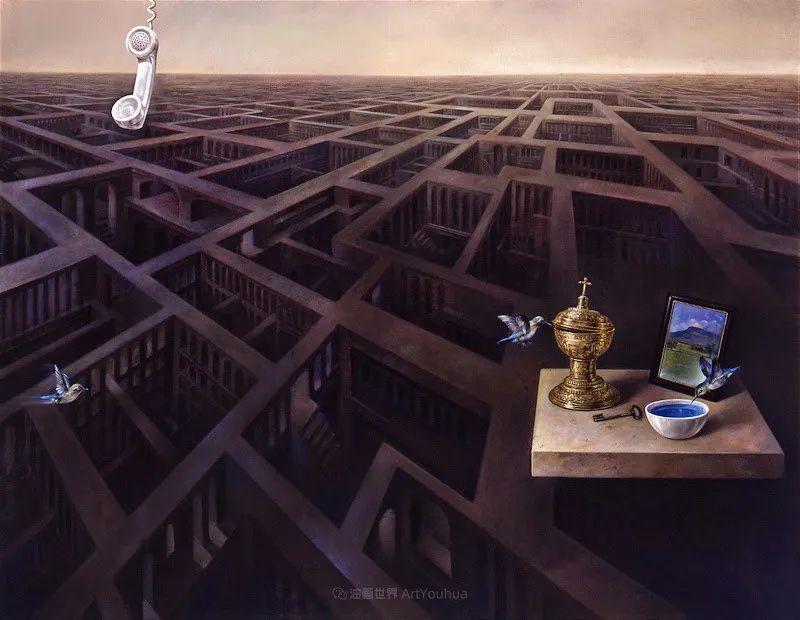 西班牙超现实主义画家阿尔贝托·潘科博插图73