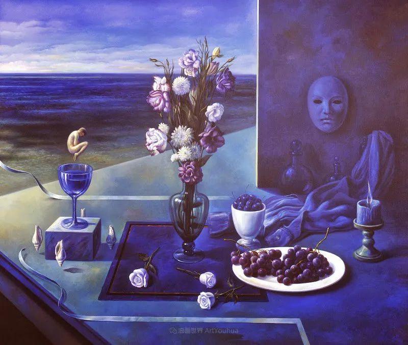 西班牙超现实主义画家阿尔贝托·潘科博插图75