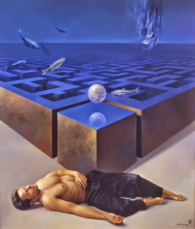 西班牙超现实主义画家阿尔贝托·潘科博插图81