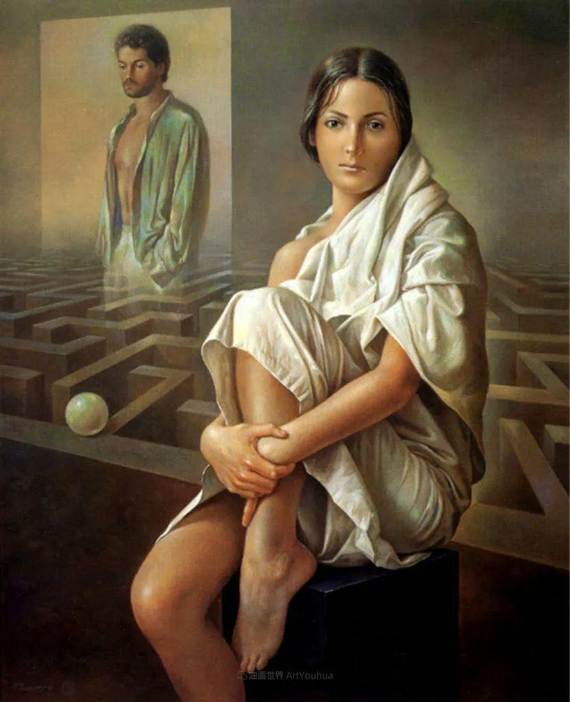 西班牙超现实主义画家阿尔贝托·潘科博插图83