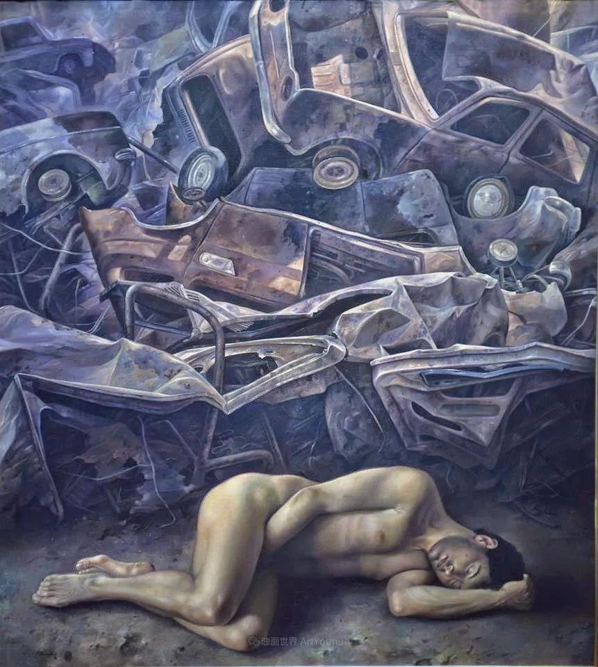 西班牙超现实主义画家阿尔贝托·潘科博插图85