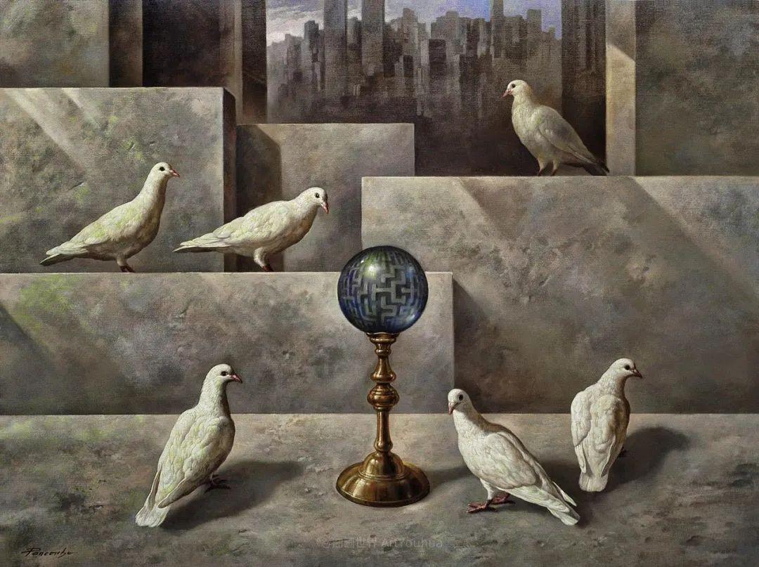 西班牙超现实主义画家阿尔贝托·潘科博插图88