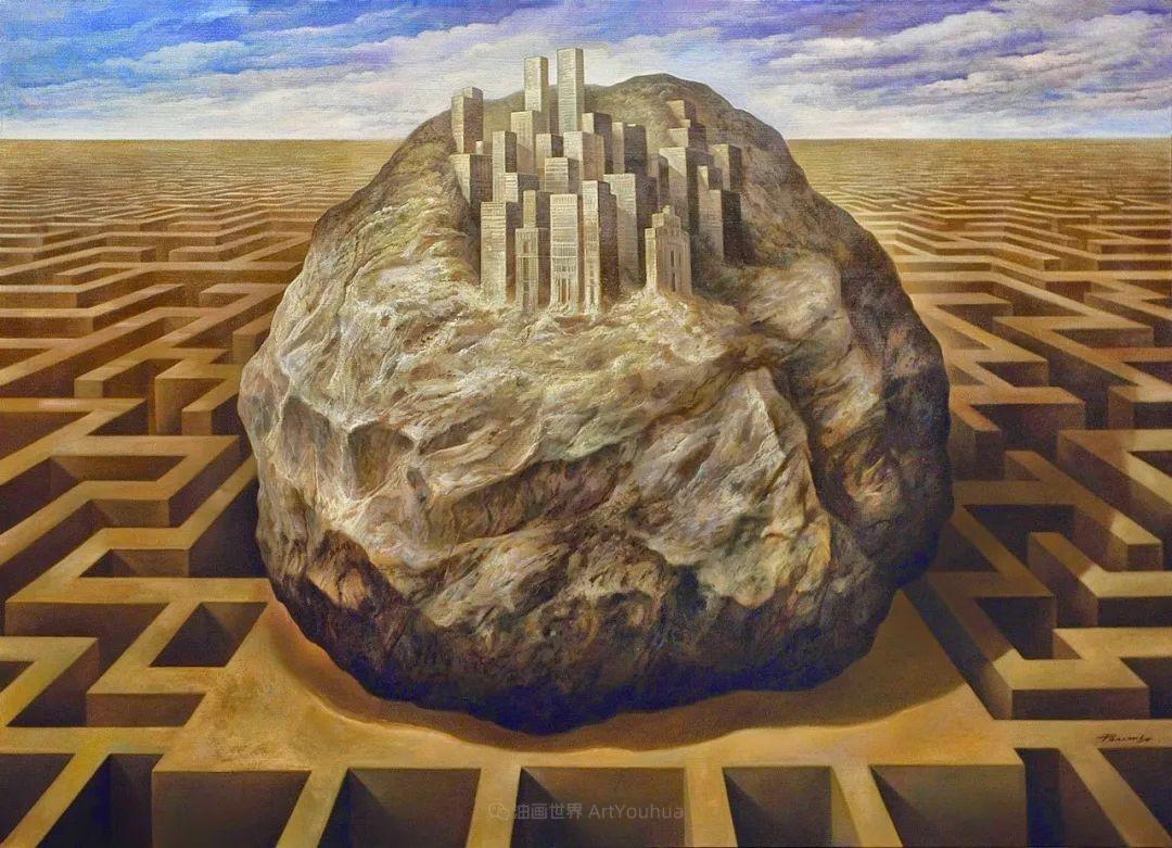 西班牙超现实主义画家阿尔贝托·潘科博插图94