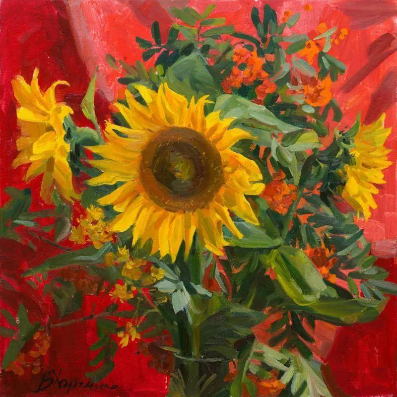 她的花儿总带着阳光,让人看了心都敞亮了!插图97