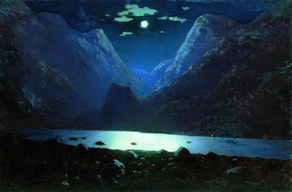 """列宾称他为""""善于表现诗意光辉的艺术大师"""",库因芝作品164幅插图1"""