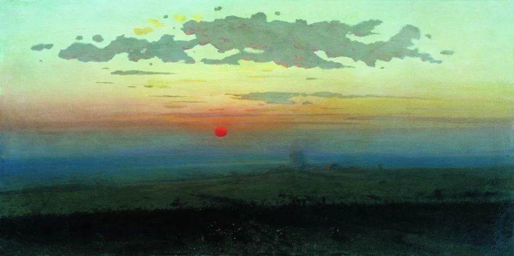 """列宾称他为""""善于表现诗意光辉的艺术大师"""",库因芝作品164幅插图3"""