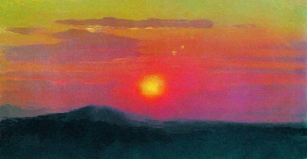 """列宾称他为""""善于表现诗意光辉的艺术大师"""",库因芝作品164幅插图5"""