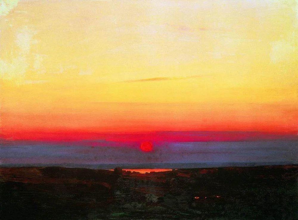 """列宾称他为""""善于表现诗意光辉的艺术大师"""",库因芝作品164幅插图7"""