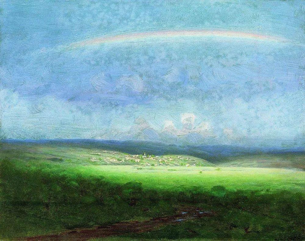 """列宾称他为""""善于表现诗意光辉的艺术大师"""",库因芝作品164幅插图11"""