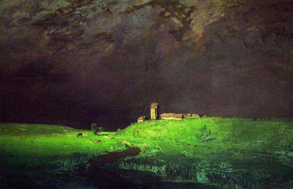 """列宾称他为""""善于表现诗意光辉的艺术大师"""",库因芝作品164幅插图13"""