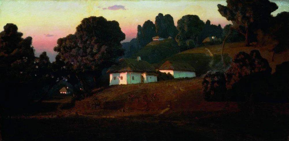 """列宾称他为""""善于表现诗意光辉的艺术大师"""",库因芝作品164幅插图15"""