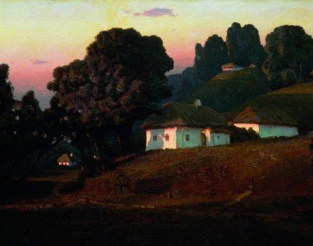 """列宾称他为""""善于表现诗意光辉的艺术大师"""",库因芝作品164幅插图17"""