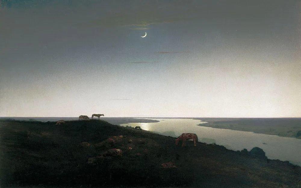 """列宾称他为""""善于表现诗意光辉的艺术大师"""",库因芝作品164幅插图19"""