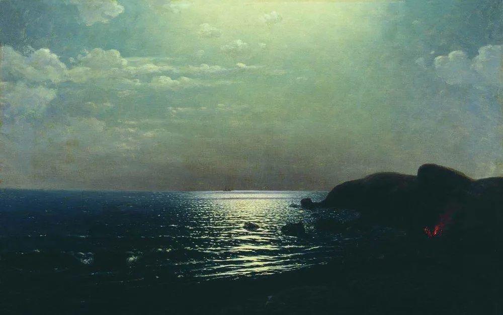 """列宾称他为""""善于表现诗意光辉的艺术大师"""",库因芝作品164幅插图23"""